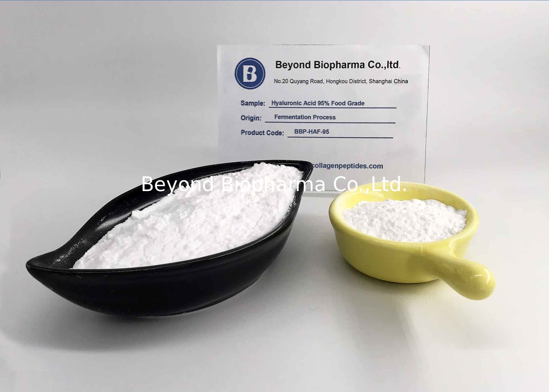 Low Molecular Weight Sodium Hyaluronate Powder For Skin Care Supplements