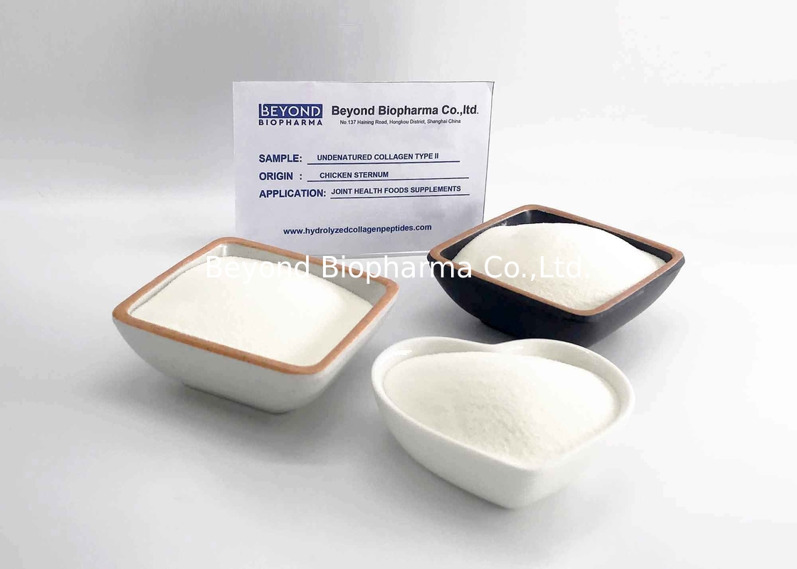 Bone Healthcare Application Active Type Ii Collagen / Type Ii Collagen from Chicken Sternum
